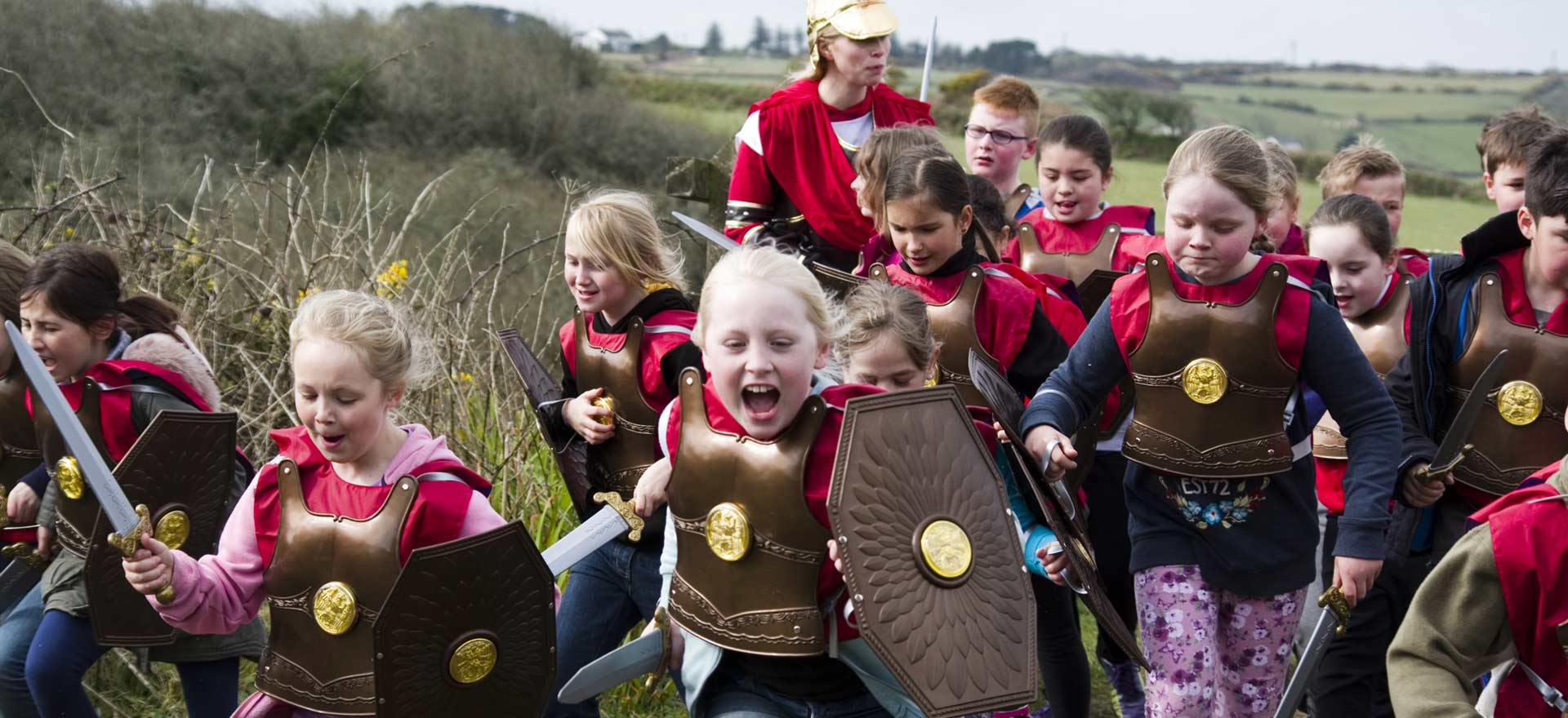 Trevithick Roman Battle