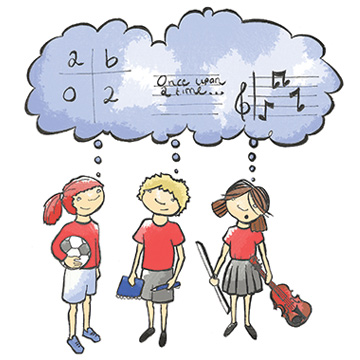Curriculum illustration